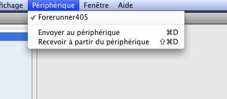 Garmin sur Mac OS X : la suite