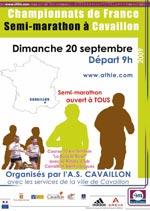 Championnats de France 2009 de Semi-Marathon - Cavaillon