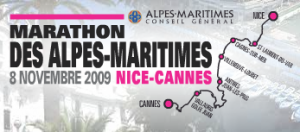 marathon nice cannes 2009