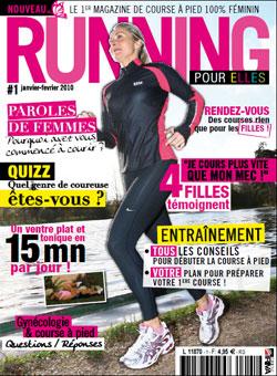 Couverture du magazine Running pour elles