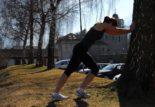 Etirements et course à pied
