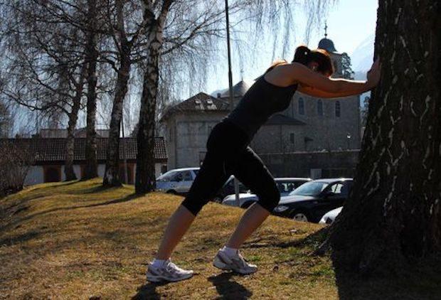 Etirement du Triceps Sural