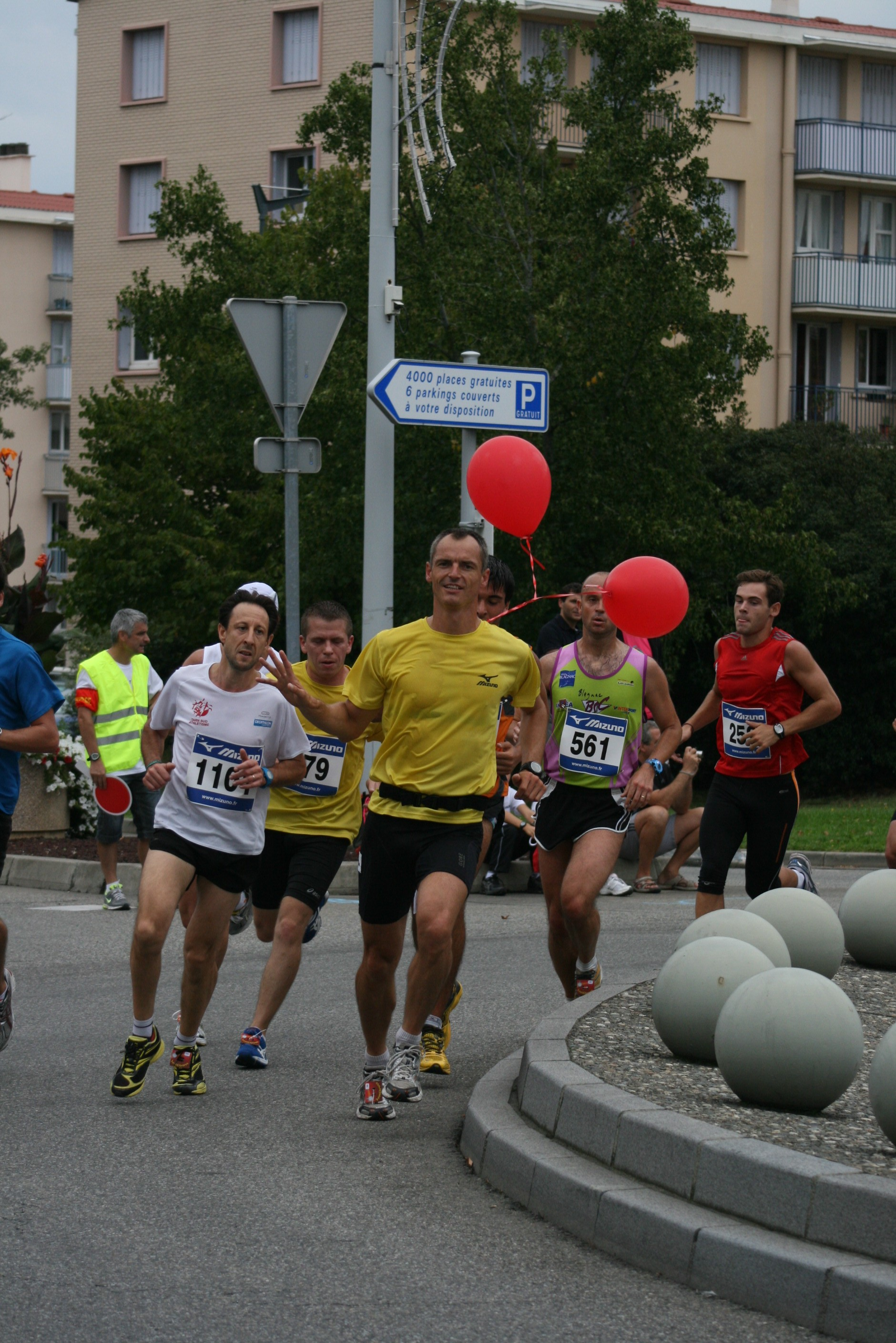 Plus de 1600 coureurs aux Boulevards de Colomiers