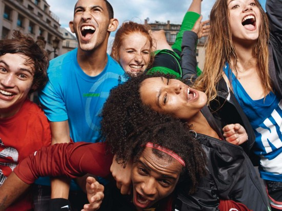 Campagne Nike pour les 10km de Paris