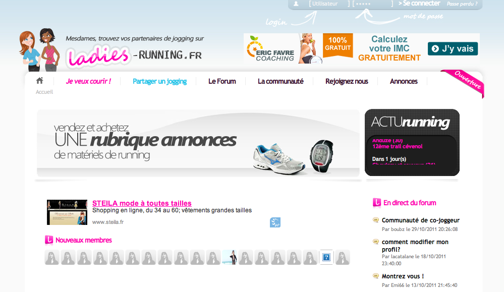 Ladies Running : le Co-jogging entre filles