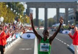 La séléction kenyanne sur marathon pour les JO de Londres 2012