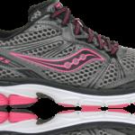 Saucony ProGrid Guide 5 - Coloris Femme Black Grey Pink