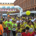 Corrida de Toulouse 2012 - départ