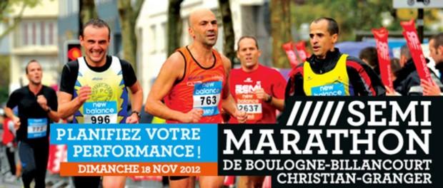 semi-marathon de boulogne-billancourt 2012