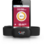 polar beat iphone avec ceinture cardio bluetooth