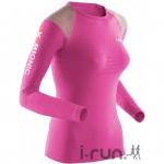 concours x-bionic tee-shirt running speed femme