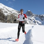 2  Michel Lanne  1er  22 km Snow trail Ubaye Salomon 324 photo Robert Goin