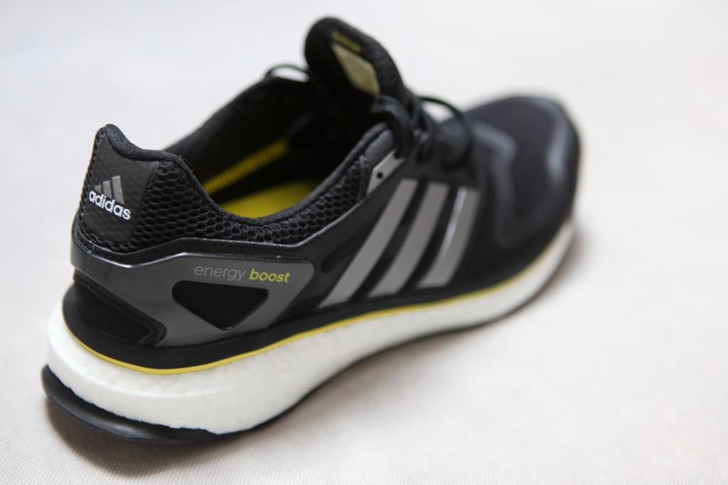 adidas energy boost : vue diagonale arrière