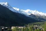 A Chamonix, fin août…