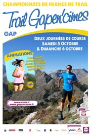 Championnats de France de Trail 2013 Gapen'cimes