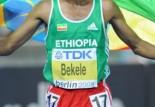 Kenenisa Bekele au marathon de Paris 2014