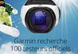 Devenez testeurs de la caméra de sport Garmin Virb