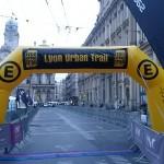 Ligne de départ du Lyon Urban Trail