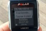 Fractionnés avec le Polar V800