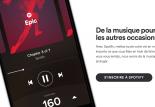 Spotify Running : musique en rythme