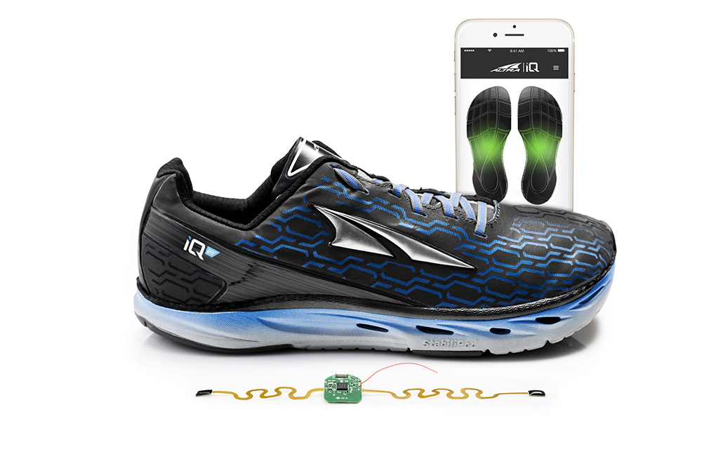 Running Shoes With Step Counter