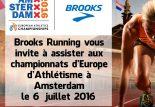 Brooks vous invite aux championnats d'Europe d'Athlétisme