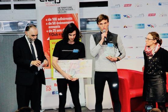 Théo Hanser et Thomas Lemaire de runergy vainqueurs du Trophée mc6®
