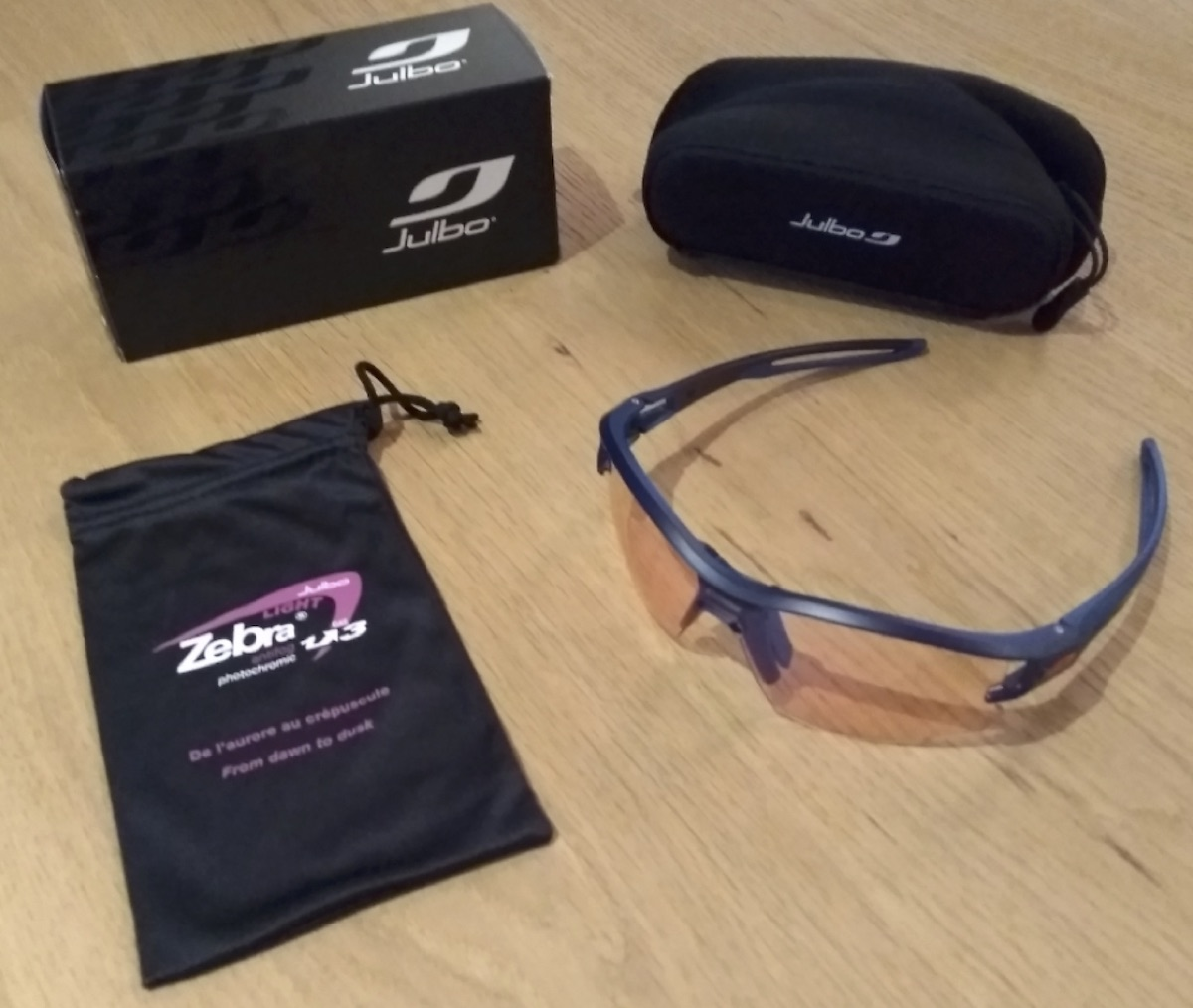 972e324a61 Julbo Aero Zebra Light : le test