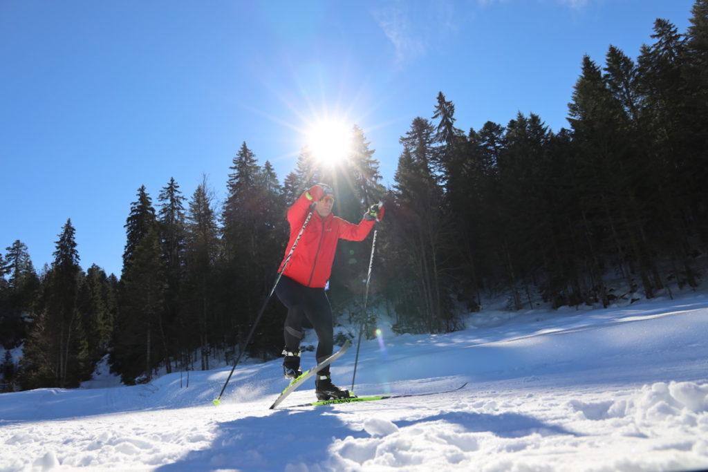 Alternatives course à pied : le ski de fond