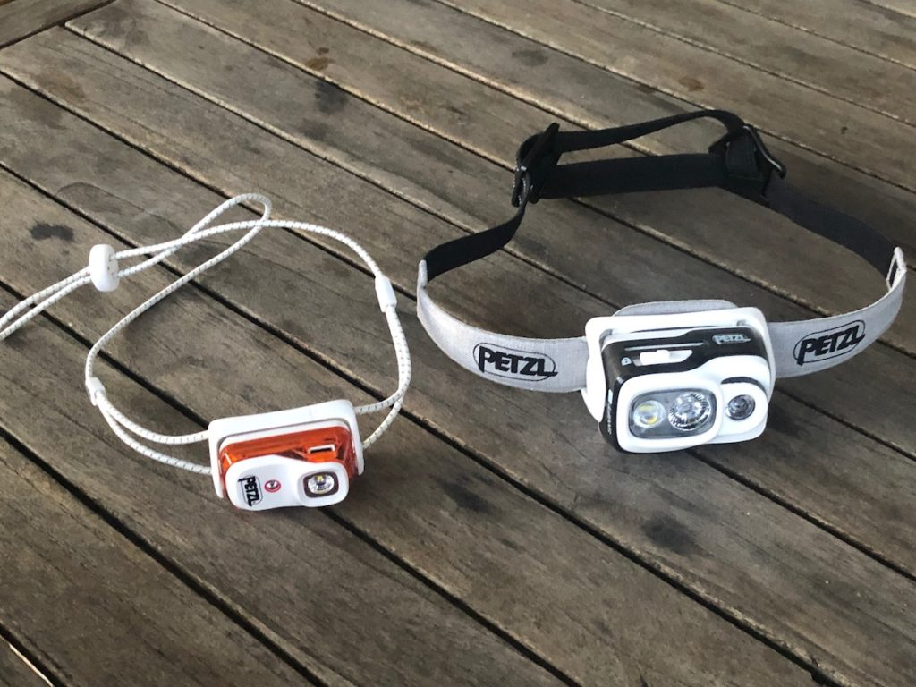 Petzl Bindi et Swift
