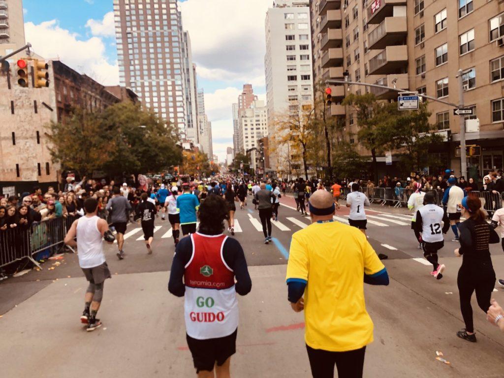 l'ambiance du marathon de new-york