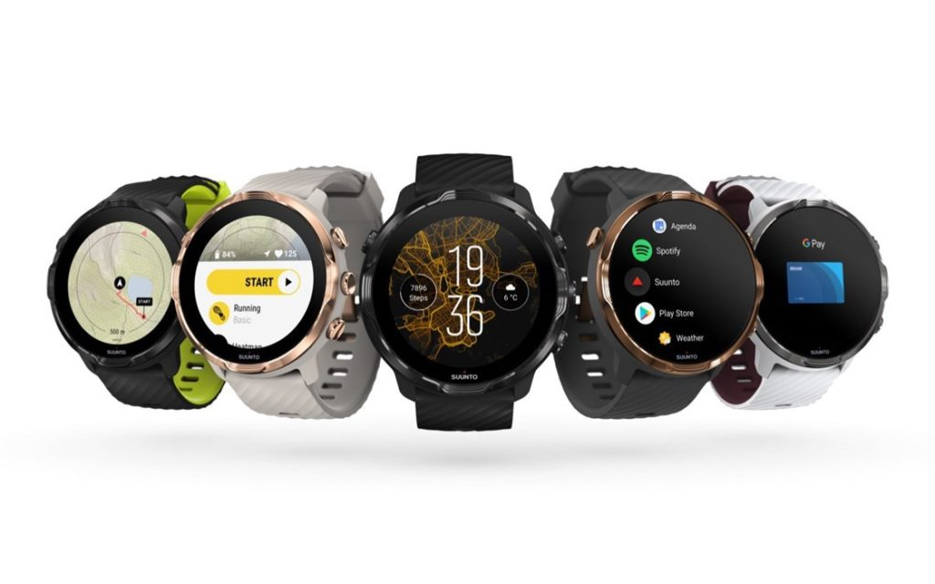 Suunto 7 : la collection