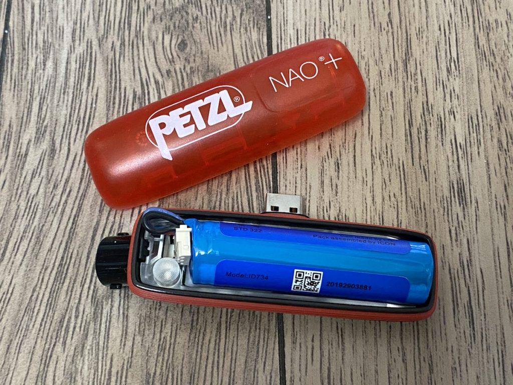 batterie Petzl Nao