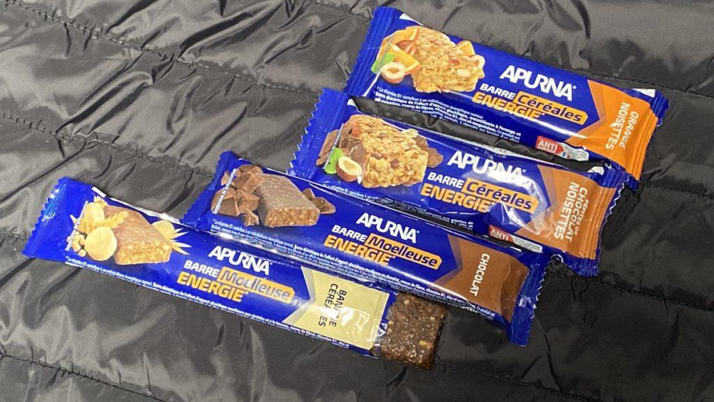 barres de céréales Apurna