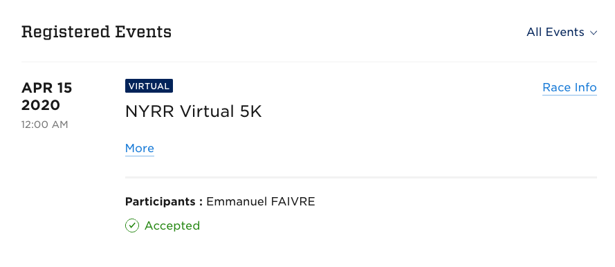 inscription course virtuelle