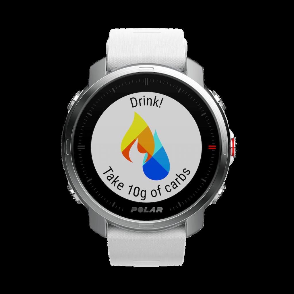 Hydratation sur la montre