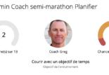 Garmin coach : plan d'entrainement suivi par un coach