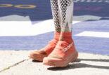 Quelles chaussures François d'Haene a utilisées sur l'UTMB ?